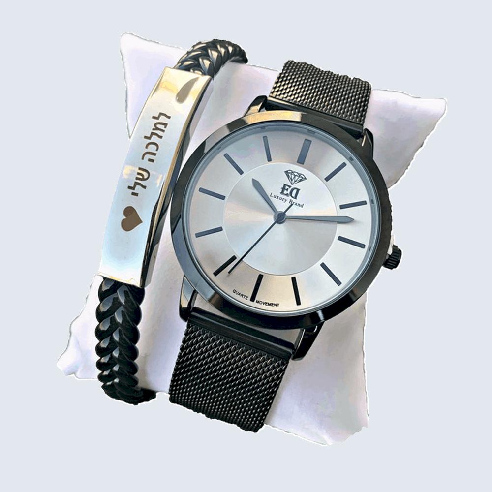 סט שעון וצמיד לאישה מתנה-2