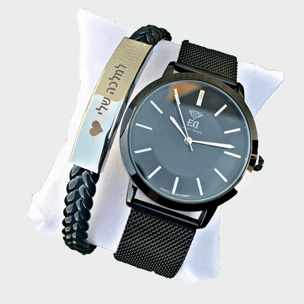 סט שעון וצמיד לאישה מתנה-3