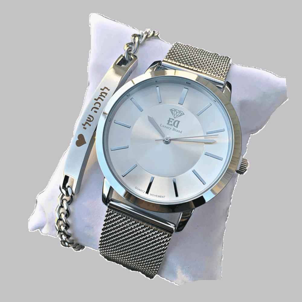 סט שעון וצמיד לאישה מתנה-4