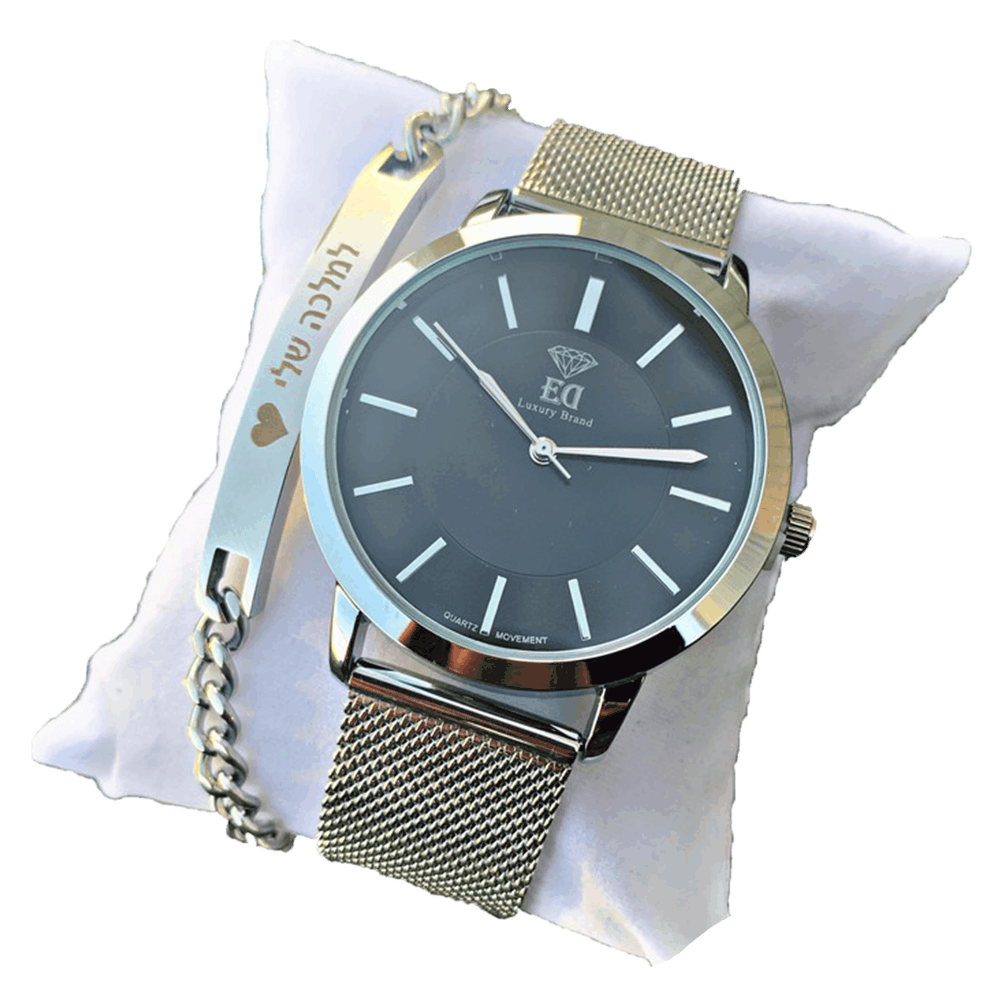 סט שעון וצמיד לאישה מתנה-6