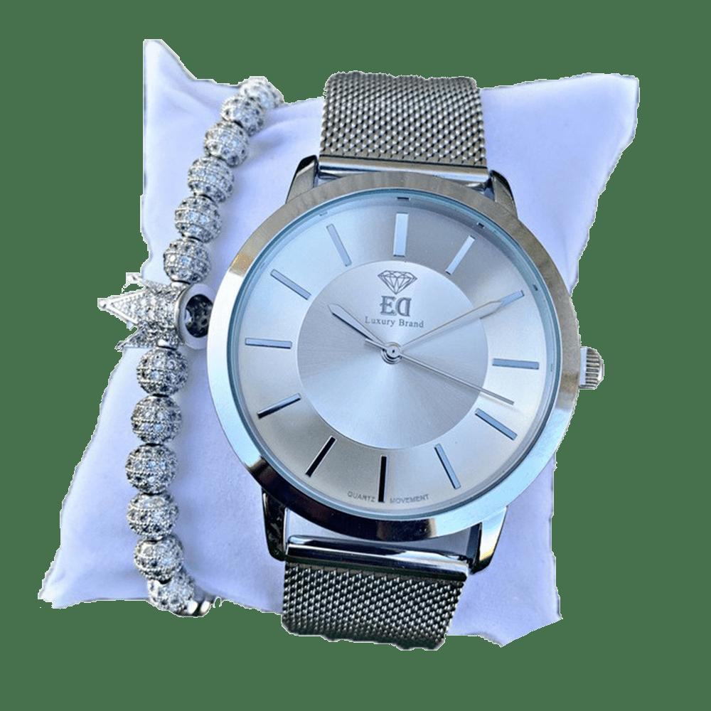 סט שעון וצמיד לגבר מתנה-2
