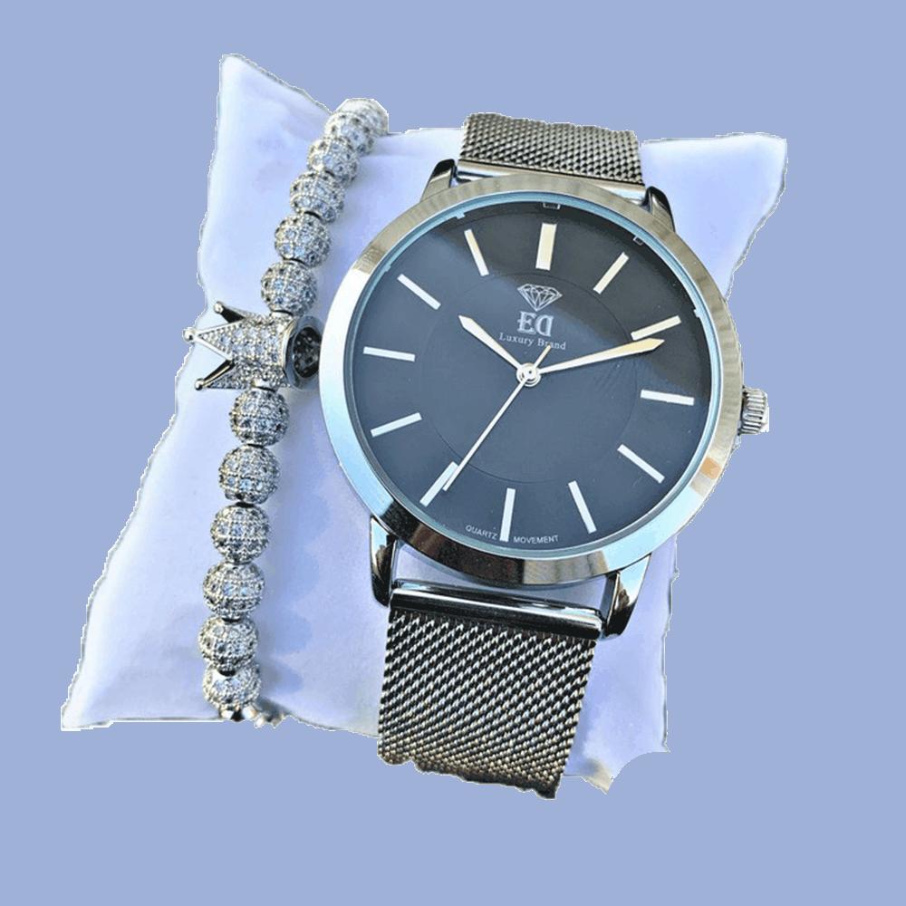 סט שעון וצמיד לגבר מתנה-3