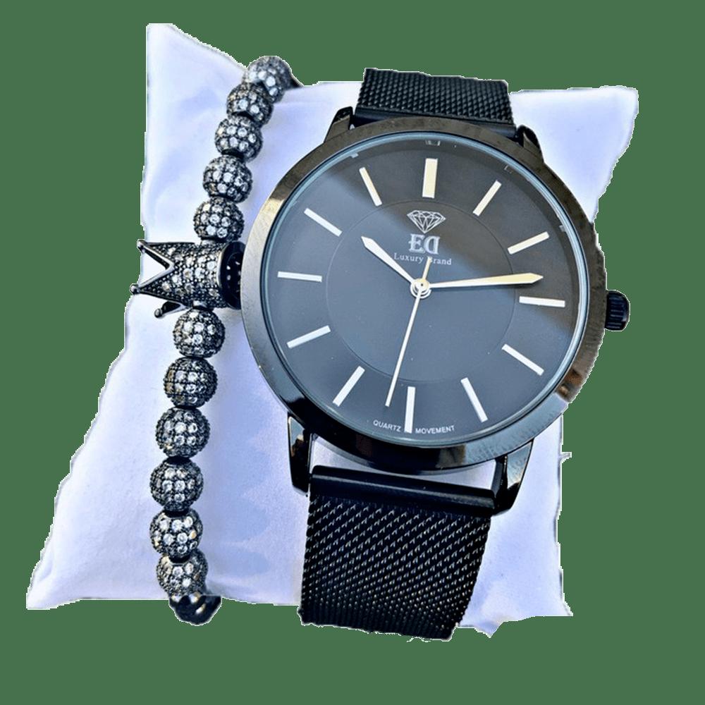 סט שעון וצמיד לגבר מתנה-6