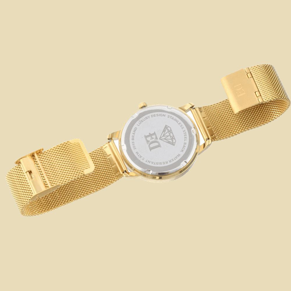 שעון זהב לאישה-1