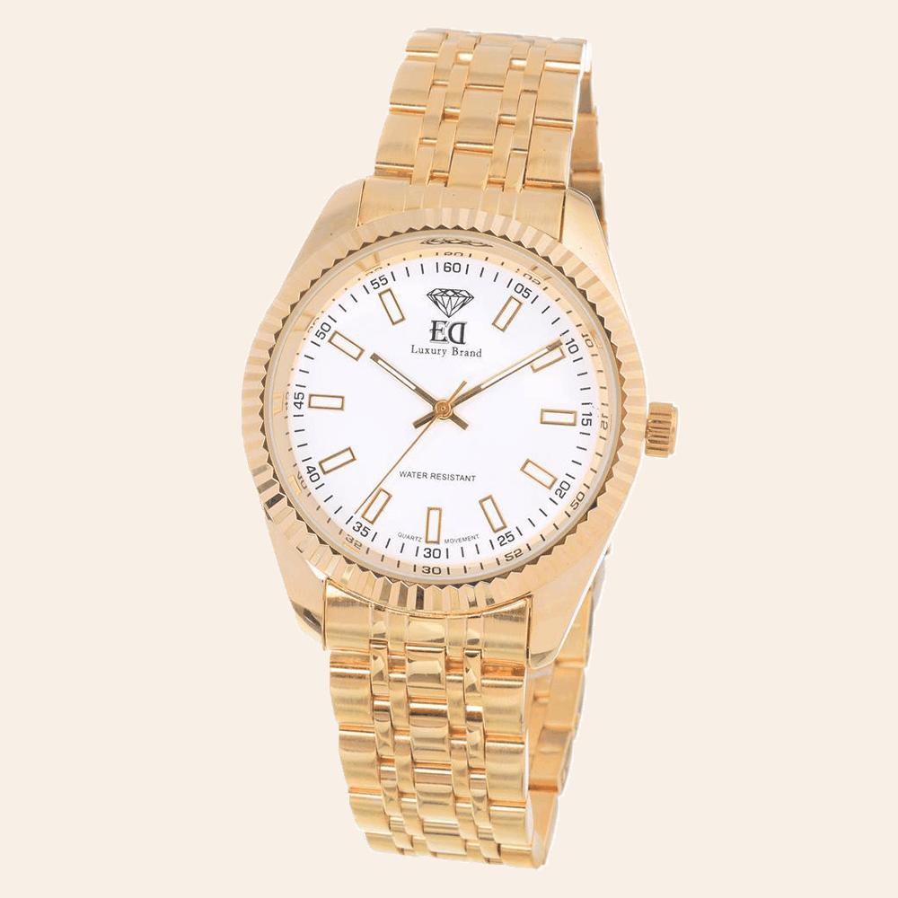 שעון זהב לגבר שעון זהב לאישה-3