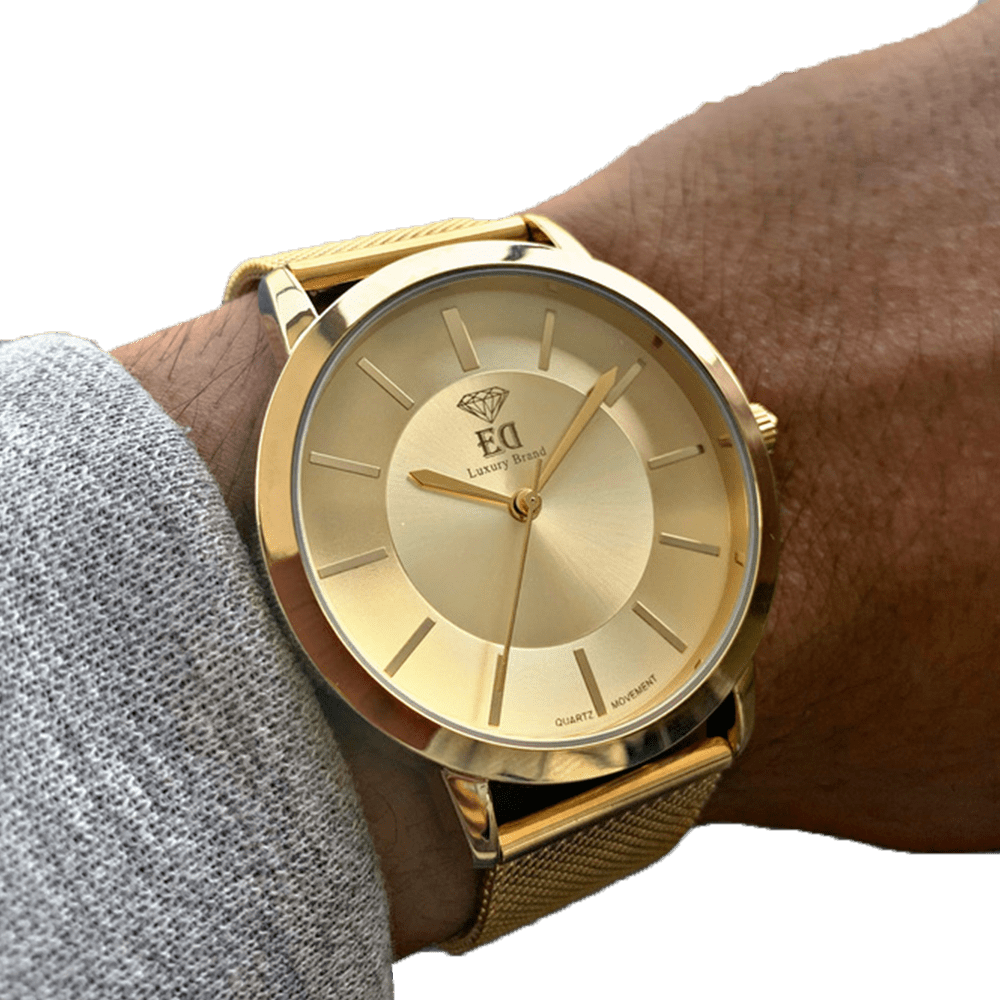 שעון יד לגבר זהב ביתא ED