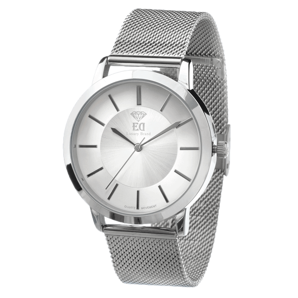 שעון כסף לגבר שעון כסף לאישה-1