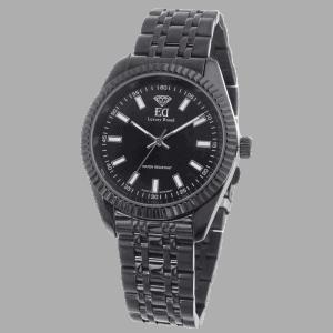 שעון שחור לגבר שעון שחור לאישה-3
