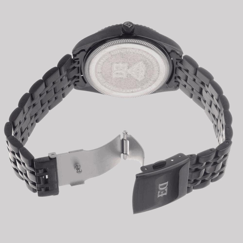 שעון שחור לגבר-1