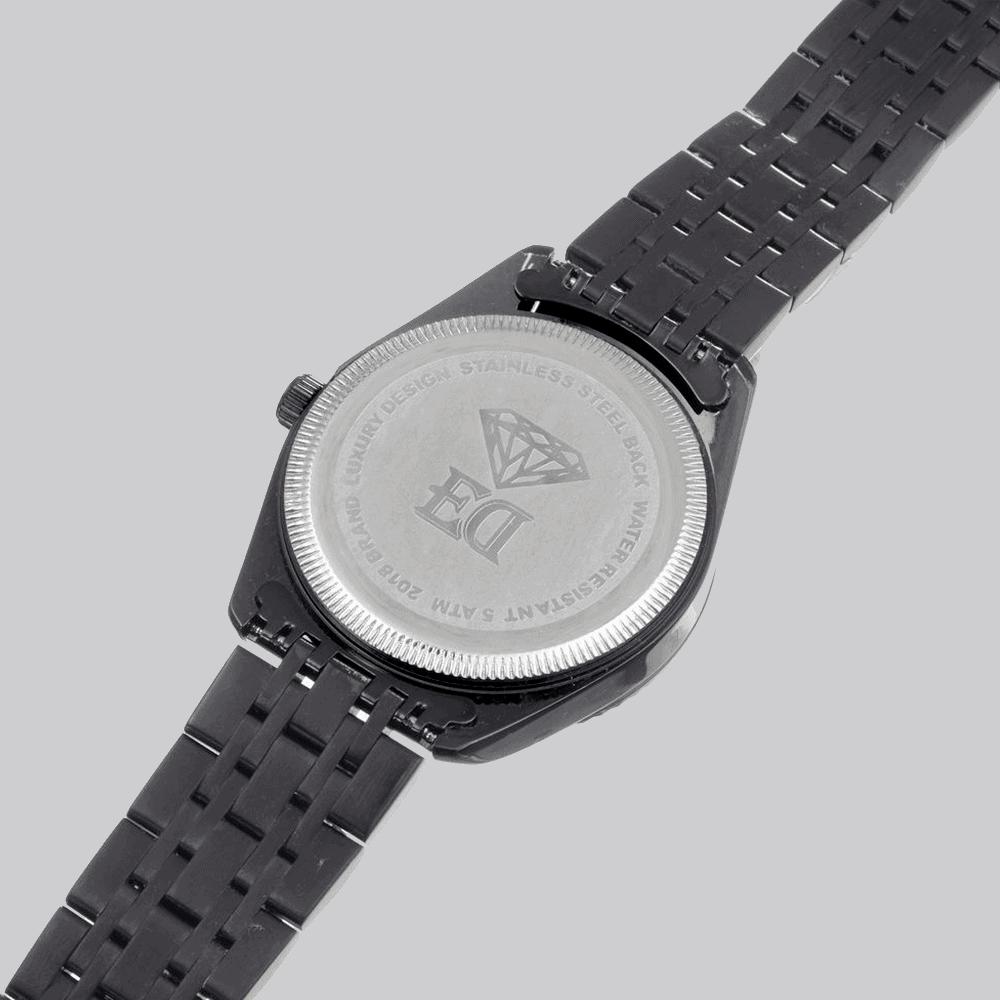 שעון שחור לגבר-3