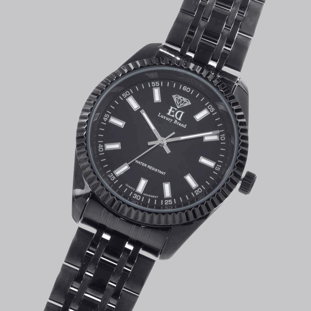 שעון שחור לגבר-4
